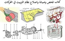 فحص وصيانة واصلاح نظام التزييت في المحركات pdf