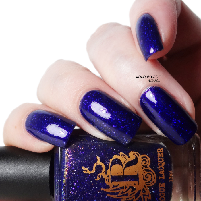 xoxoJen's swatch of Rogue Lacquer S'more Spooky Stories