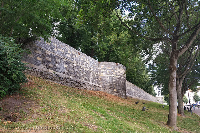 Medieval Wall Tongeren Belgium