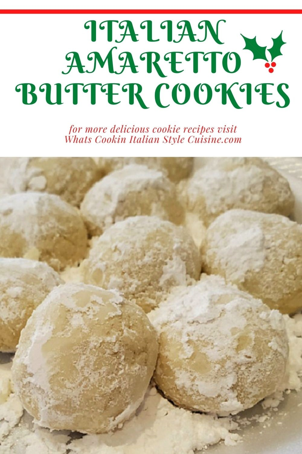 this is a pin for later on how to make butter ball cookies