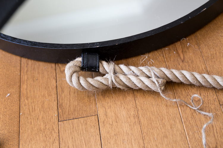 Rope mirror | Tutorial | Bathroom makeover | Home Decor | DIY | Easy | Simple