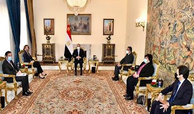 ما هي رسالة الرئيس السيسي لليونسكو بخصوص  الآثار المصرية