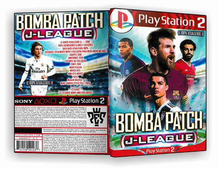 JOGO – Bomba Patch J-League 2019 – PS2 – ISO