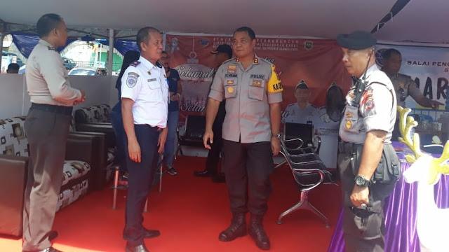 Baru Jabat Kapolres  Bitung ,Prabowo lansung turun lapangan cek kesiapan Personil