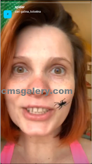 Spider filter instagram | How to get spider effects on the face easily