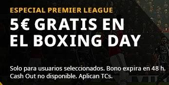 betfair 5 euros gratis para todos para el Boxing Day diciembre 2020