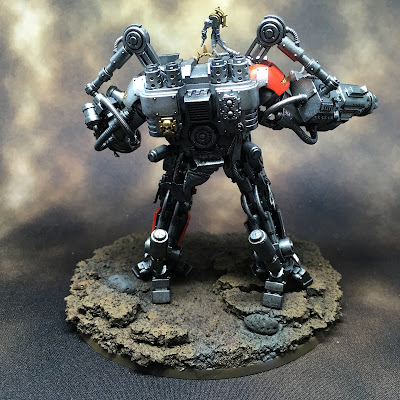 Grey Knight Grand Master in Nemesis Dreadknight WIP back