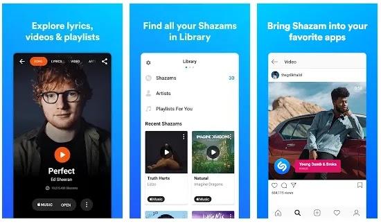 سيحدد Shazam أي أغنية في ثوان. اكتشف ، والفنانين ، وكلمات الأغاني ، والفيديوهات وقوائم التشغيل ، وكل ذلك مجانًا. Shazam - أفضل تطبيق هوية موسيقية في العالم
