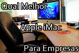 apple imac para empresa executivo escritório