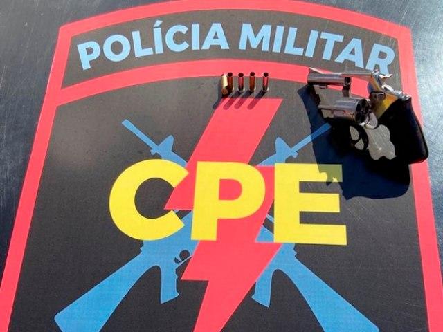 Um Homem troca tiros com CPE e recebe um paletó de madeira, fato aconteceu em Águas Lindas de Goiás! Acesse e Confira