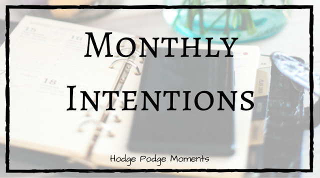 Monthly Intention: May 2016