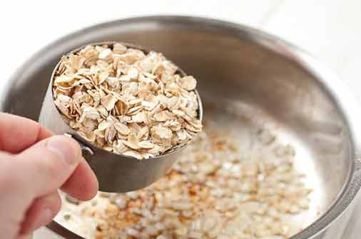 Oatmeal-How to get rid of acne scars