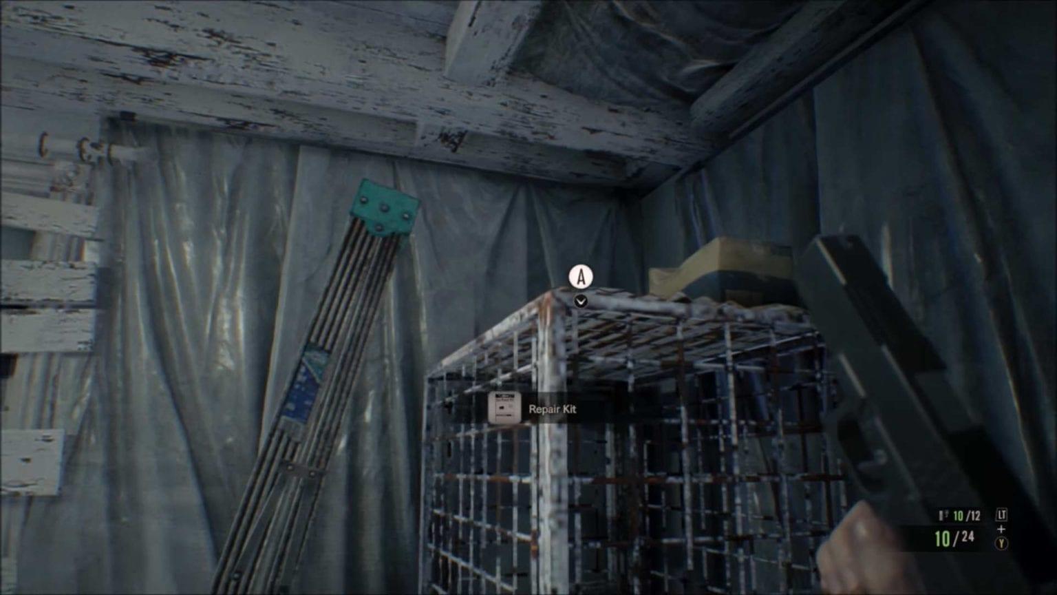 Location 3. Treasure photo - cage