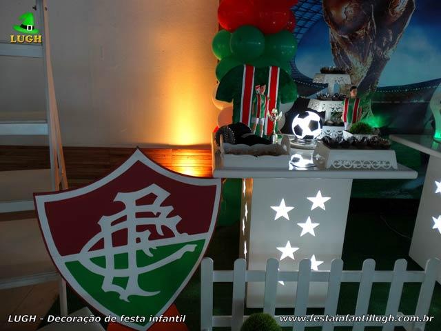 Decoração festa de aniversário tema Futebol