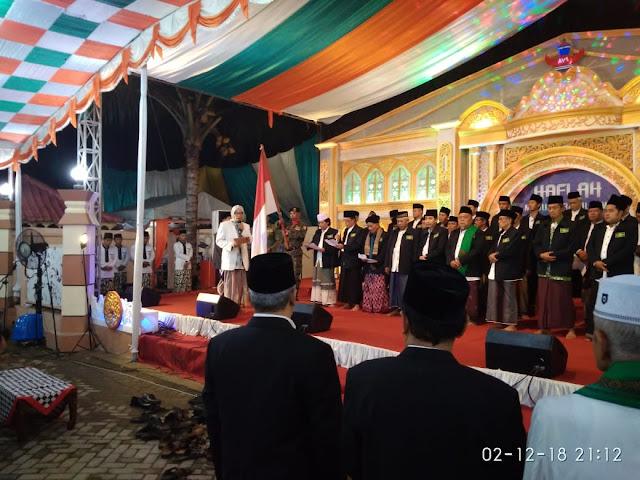 Resmi Dilantik, Rais Aam: PCNU Kebumen Harus Mampu Jaga Stabilitas Negara