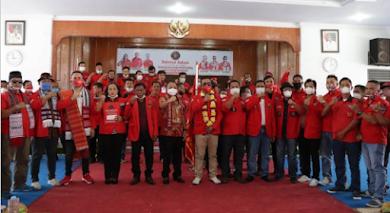 Hadiri Pelantikan Pengurus DPC PBB Binjai, Wali Kota Berharap Pemuda Jadi Pionir Pembangunan