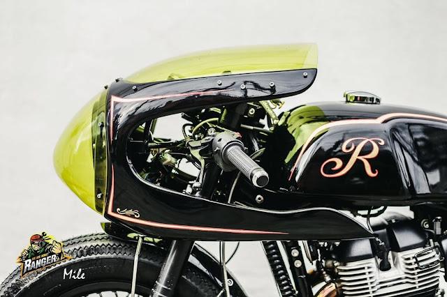 Royal Enfield GT650 By Ranger Korat Custom Hell Kustom