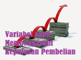 Variabel yang Mempengaruhi Keputusan Pembelian