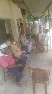 गढ़ी में हुआ सैकड़ों मरीजों का निशुल्क परामर्श, कराई जाच, जाना कोवीड के बाद की जीवनशैली