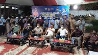 Kontingen Peserta Pra-PORA III Drum Band di Jamu Bupati Bireuen