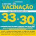 SÃO SEBASTIÃO DA AMOREIRA ANUNCIA A VACINAÇÃO CONTRA A COVID-19 PARA A POPULAÇÃO COM : 33 À 30 ANOS