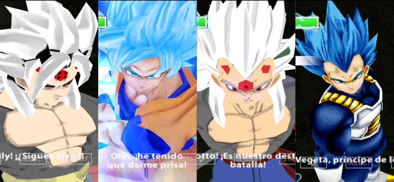 AF Goku And Vegeta Vs DBS Goku And Vegeta