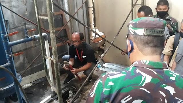 Seminggu Lalu Dicor, Dansektor 21 Cek Progres Pembenahan PT CAPP