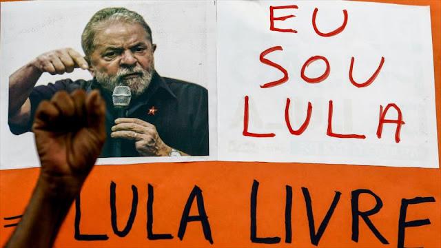 Lula llama a Brasil a rebelarse contra agenda 'neoliberal' de Temer