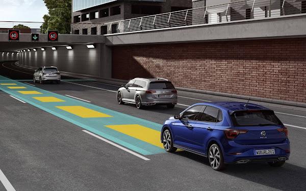 Novo VW Polo 2022 tem condução semi-autônoma com ID.Drive