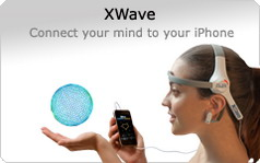 PLX Devices' XWave is the world's first brainwave interface accessory for the iPhone/iPod Touch/iPad