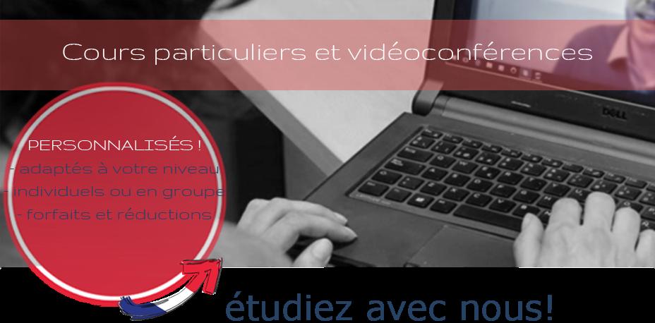 Cours Intensifs personnalises français FLE