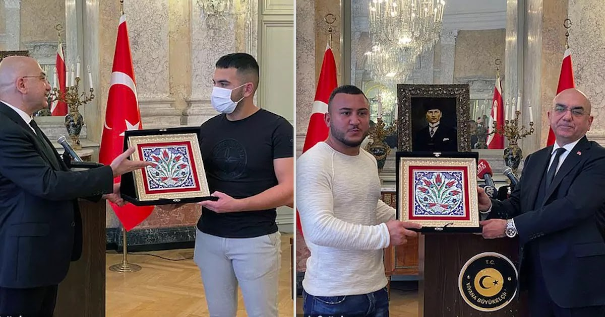 2 Turkish MMA Fighters Awarded For Bravery In Austria Following The Vienna Terror Attack That Killed 5