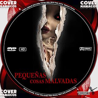GALLETA PEQUEÑAS COSAS MALVADAS 2019[COVER DVD]