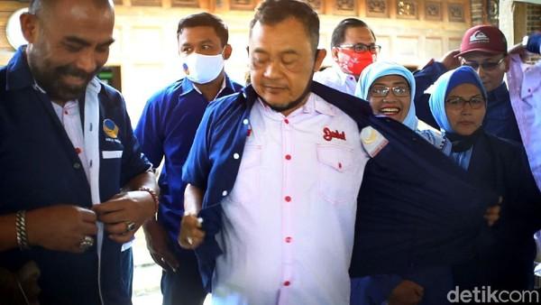 Pengurus NasDem Copot Seragam Gegara Rekom ke Istri Bupati Sukoharjo