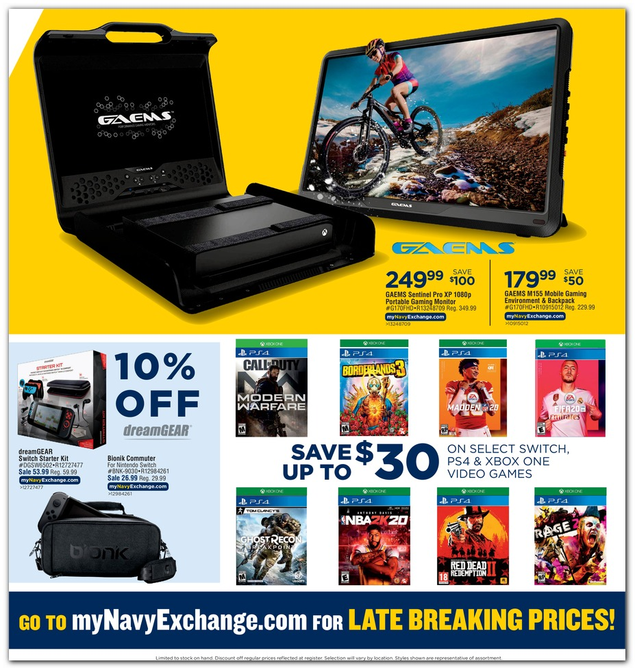 Navy Exchange Black Friday 2019 page 3