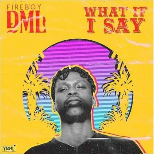 "[Lyrics] Fireboy DML – ""What If I Say"""