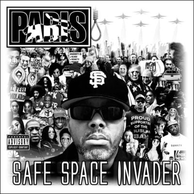 Paris - Safe Space Invader (2020) - Album Download, Itunes Cover, Official Cover, Album CD Cover Art, Tracklist, 320KBPS, Zip album