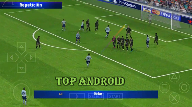 PES 2020 PPSSPP Camera PS4 Android Offline