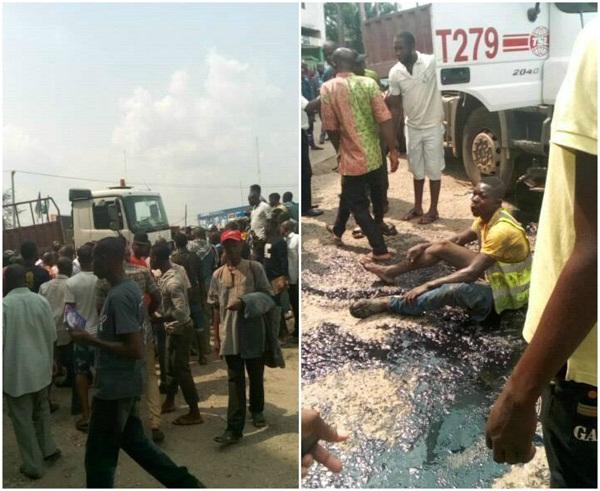 Accident along Izukwu Road Aba