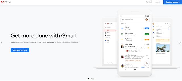 Gmail entrando