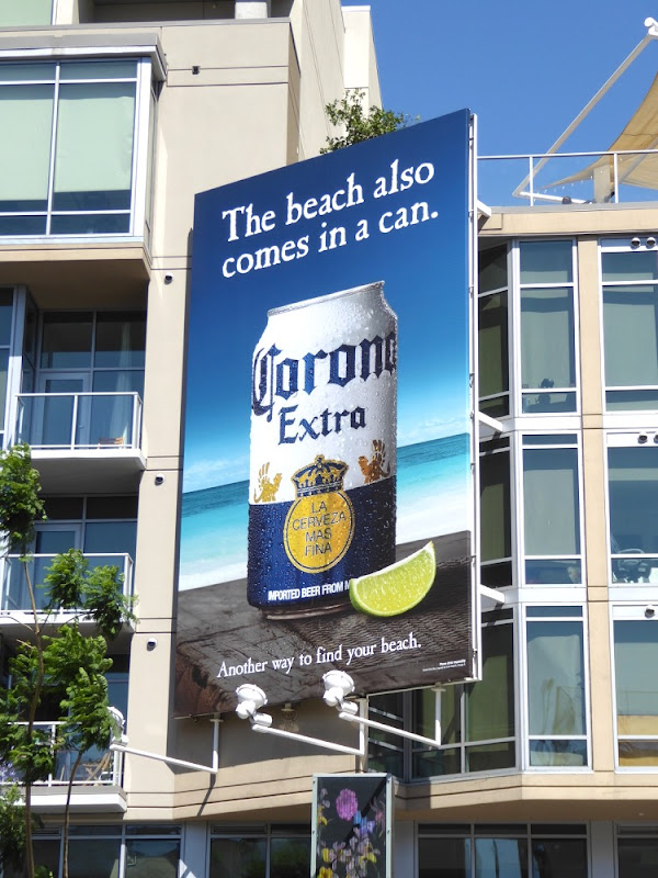 beach also comes in a can Corona