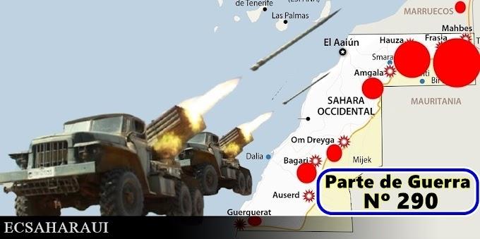 Parte de Guerra Nº 290. Guerra del Sáhara Occidental.