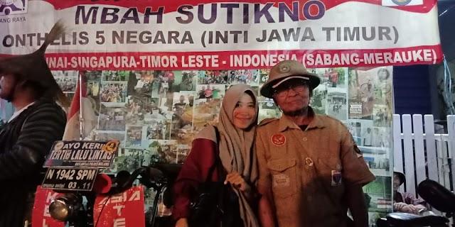 Selamet Sutikno, Menjelajahi Lima Negara di Usia 74 Tahun