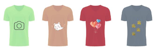camisetas e estampas para vender