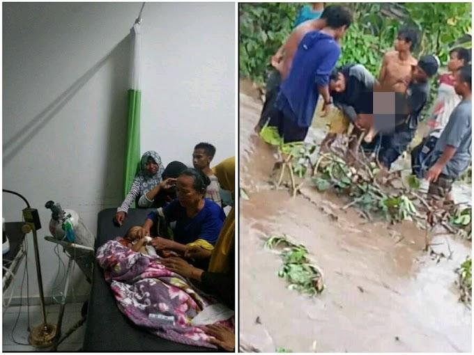 Naas! Bocah Mungil Ini Tewas Terseret Arus Banjir Di Desa Boro, Sanggar