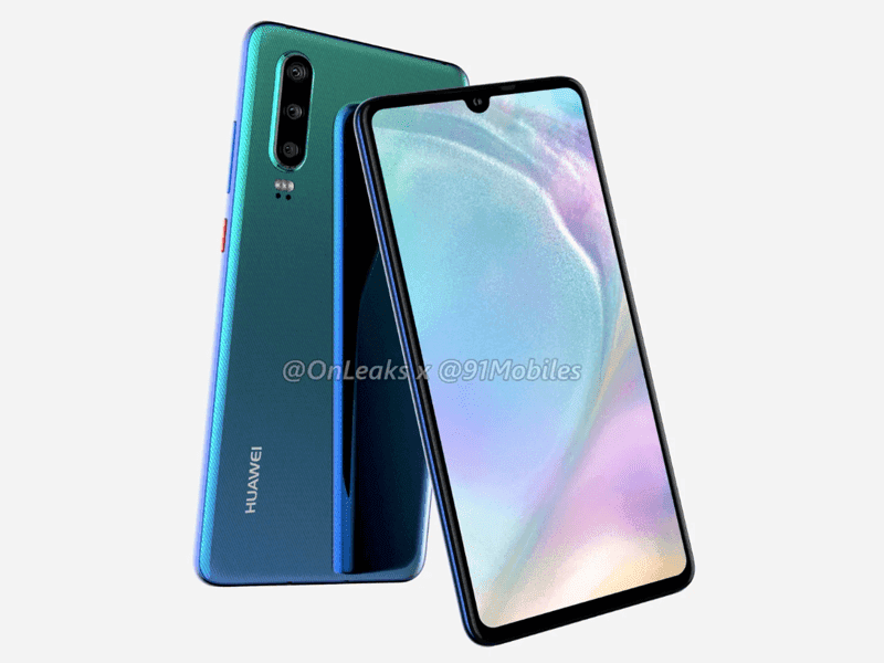 Huawei P30 to feature an OLED screen, P30 Pro might have a periscope zoom camera
