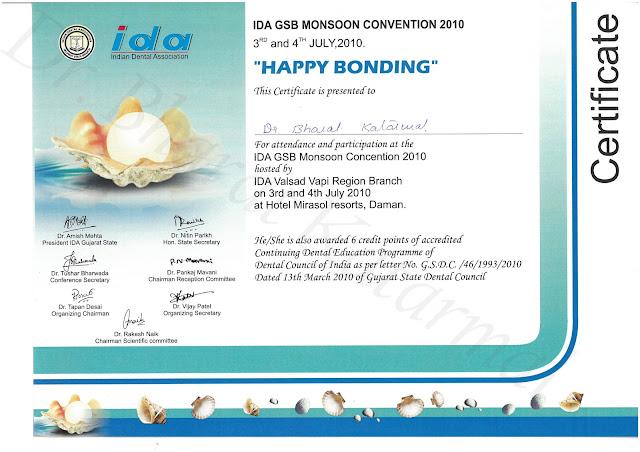 IDA GSB Monsoon convention 2010