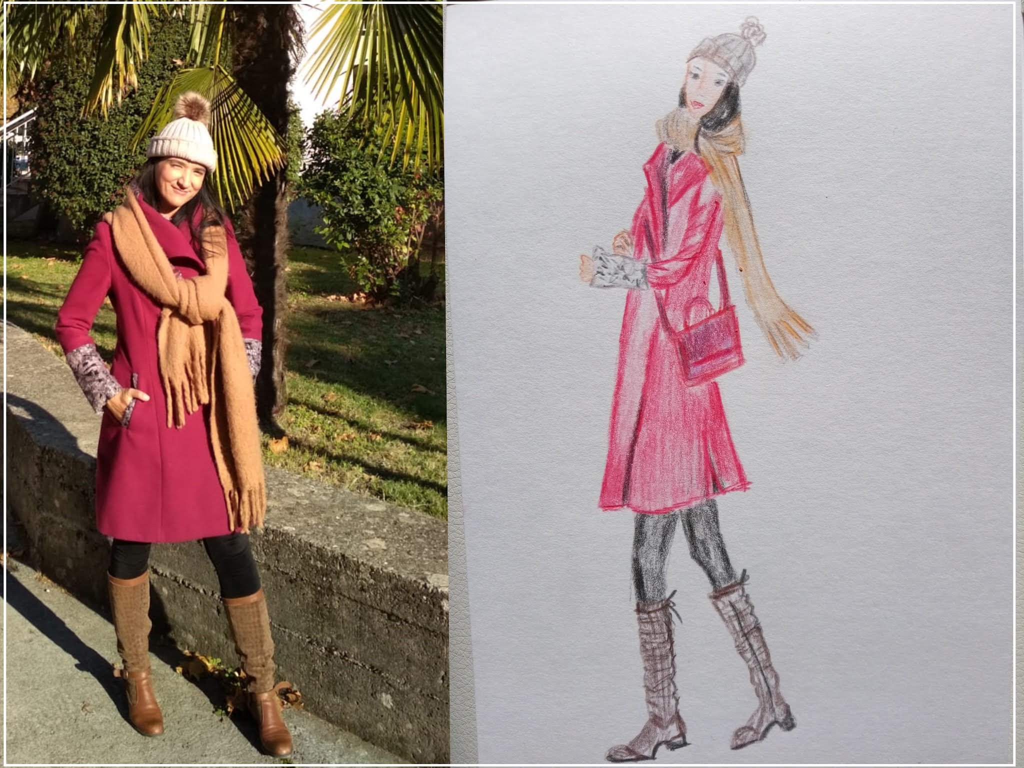 FASHION ILLUSTRATION AND OUTFIT OF THE DAY: AUTUMN STYLING