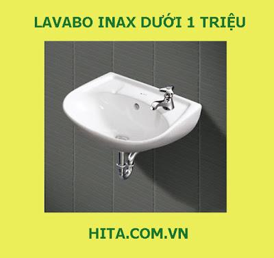 5 mẫu Lavabo Inax dưới 1 triệu bán chạy nhất 2017 - 2018 L-280V