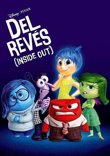 Cartel de la película de animación de Pixar Inside Out